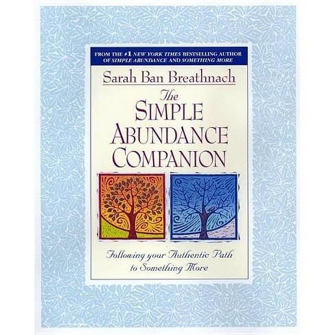 Simple Abundance Companion - by  Sarah Ban Breathnach (Paperback) - image 1 of 1