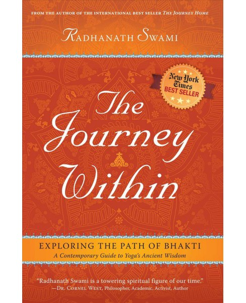 Journey Within : Exploring the Path of Bhakti (Reprint) (Paperback) (Radhanath Swami) - image 1 of 1