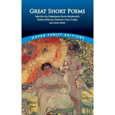 Great Short Poems - (Dover Thrift Editions) by  Paul Negri (Paperback)