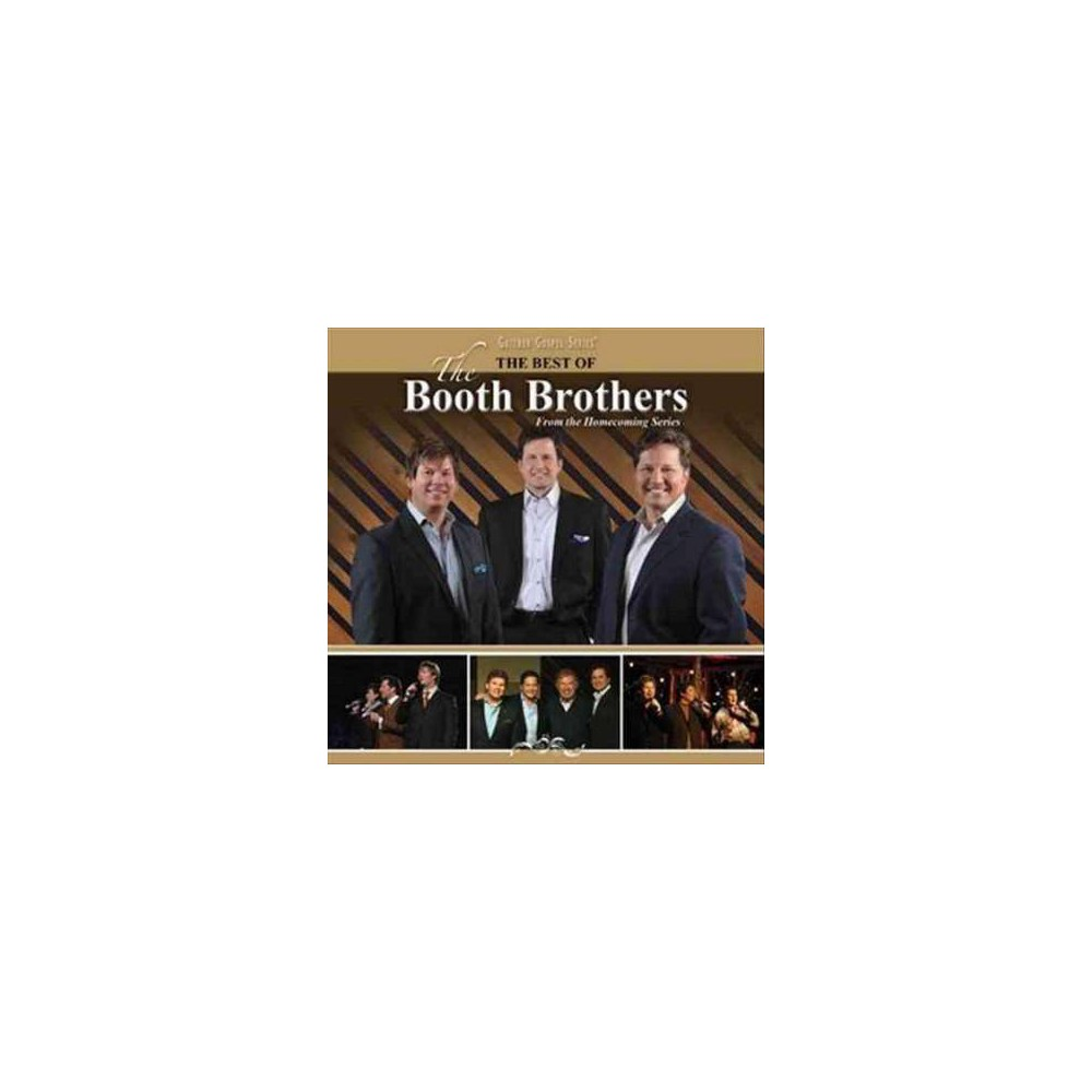 The Booth Brothers The Best Of The Booth Brothers Cd