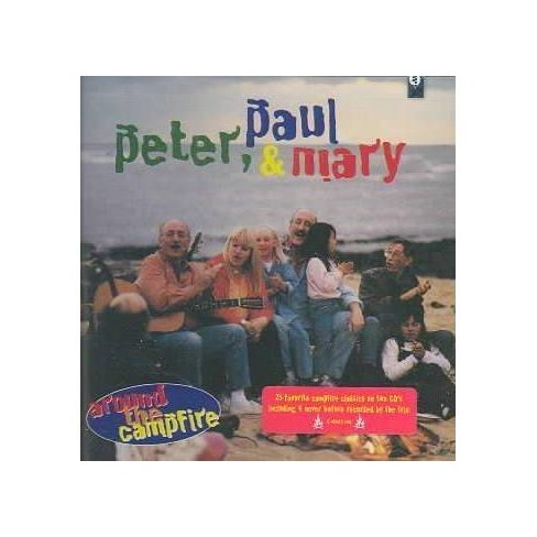 Paul & Mary Peter - Around The Campfire (CD) - image 1 of 1