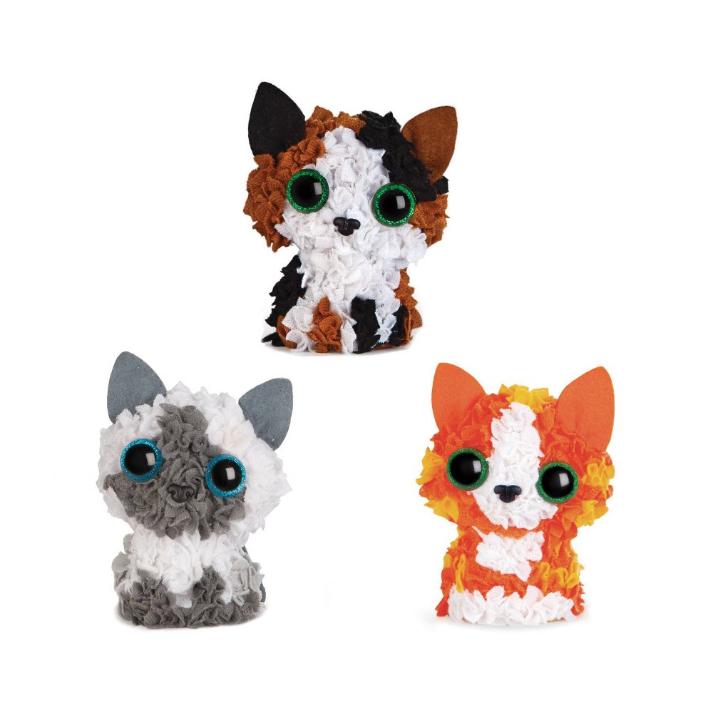 Image of PlushCraft 3D Mini Kitten Club