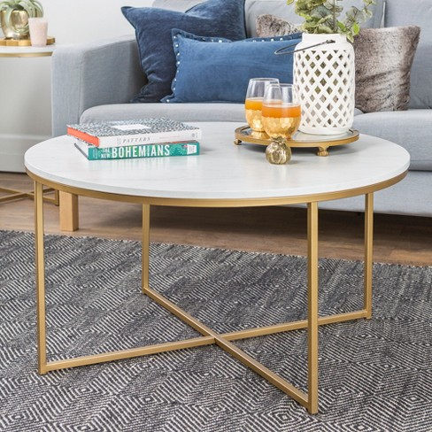 Coffee Table With X Base Saracina Home
