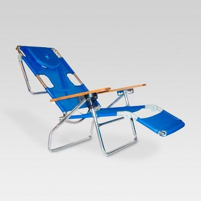 Ostrich Face Down 3 In 1 Beach Chair - Blue