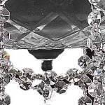 elegant cut clear crystal