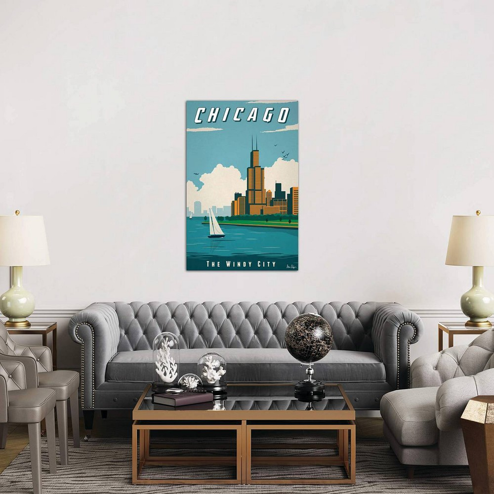 26 34 X 18 34 Chicago By Ideastorm Studios Unframed Wall Canvas Print Icanvas