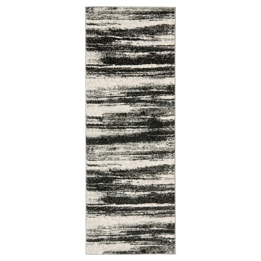 Ulla Runner Dark Gray Light Gray 2 39 3 34 X 9 39 Safavieh