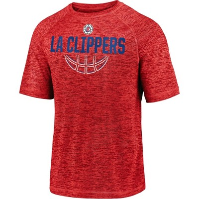 NBA Los Angeles Clippers Men's Synthetic Short Sleeve T-Shirt