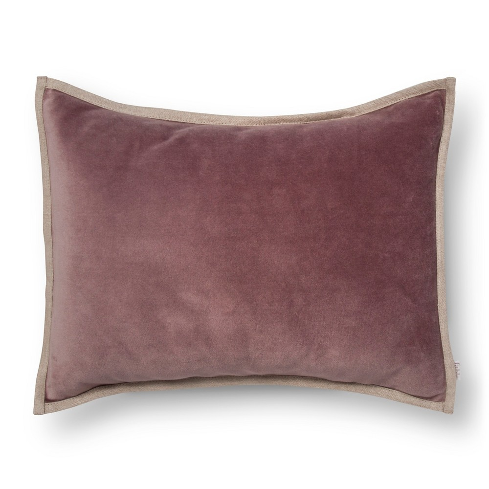 "Image of ""Cameo Throw Pillow (16""""X12"""") Purple - Fable"""
