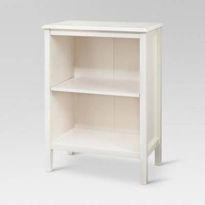 Windham 2 shelf bookcase - Shell - Threshold™