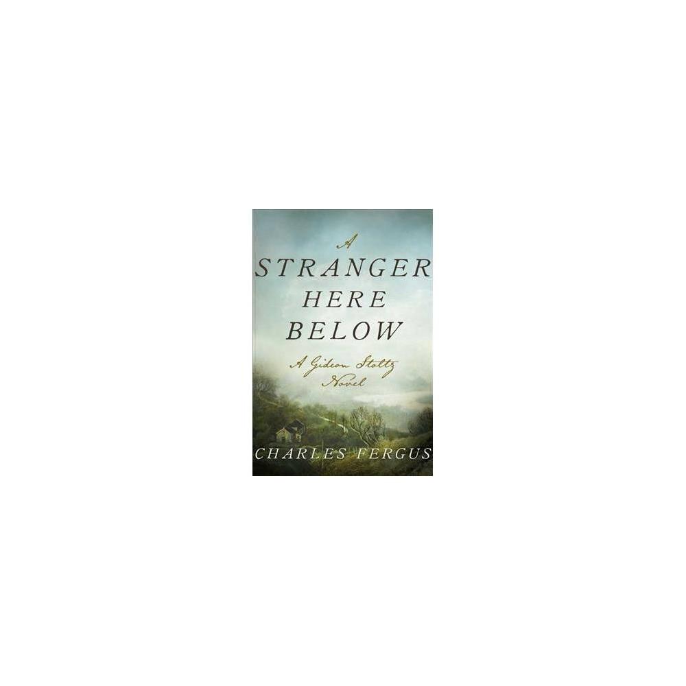 Stranger Here Below - (Gideon Stoltz Mysteries) by Charles Fergus (Hardcover)