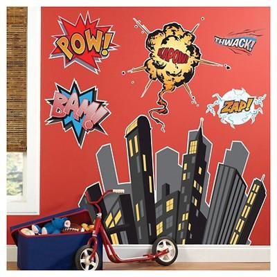 Superhero Comics Wall Decal