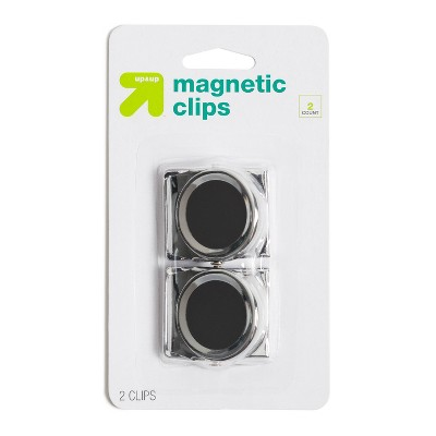 2ct Magnetic Clips Silver - up & up™