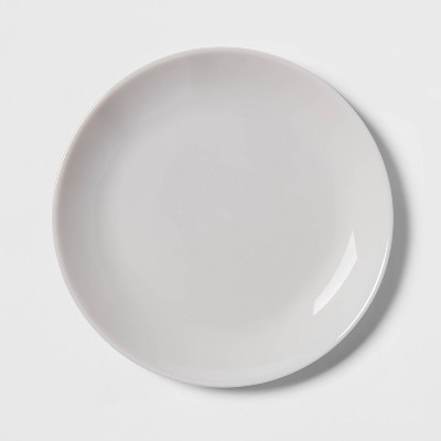 "7.4"" Glass Salad Plate Gray - Made By Design™"