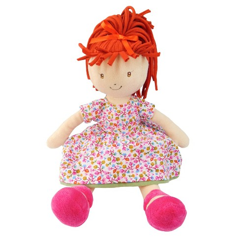 "Bonikka Rag Doll - Lulu Collection - Emmy Lu - Orange Hair - 13.5"" - image 1 of 1"