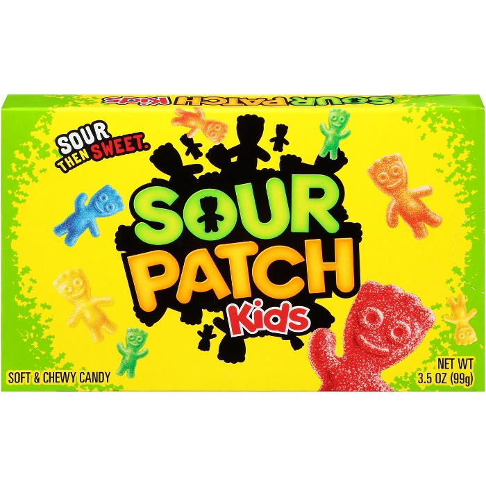 Sour Patch Kids Soft & Chewy Candy - 3.5oz - image 1 of 6