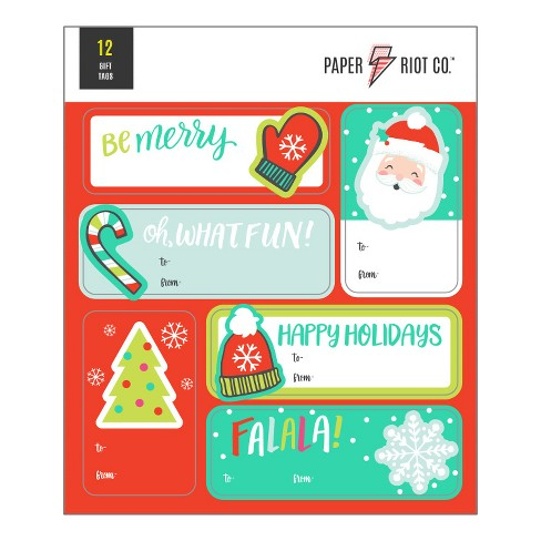 Paper Riot Co. Christmas Icons Sticker Tags - image 1 of 1
