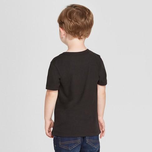 e261b72b3c19 Toddler Boys' The Rolling Stones Short Sleeve T-Shirt - Black : Target