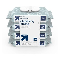 Flushable Cleansing Cloths - Up&Up™