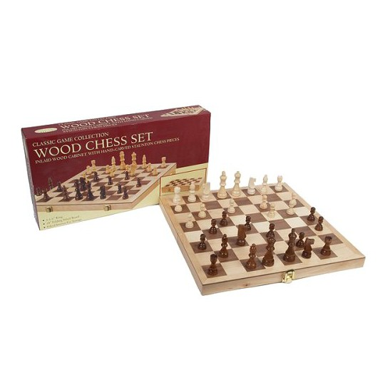 """""""Chess Set Game - Deluxe with 2.5"""""""" King"""" image number null"""