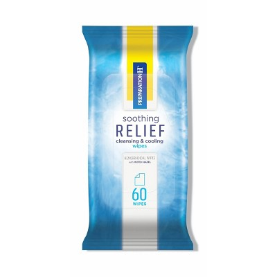 Preparation H Soothing Relief Wipes - 60ct