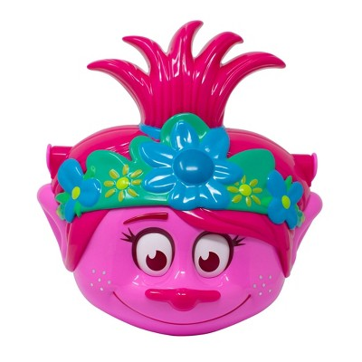 Trolls Poppy Character Plastic Pail Halloween Trick or Treat Containers