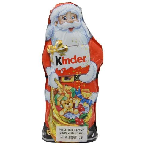 Kinder Holiday Santa Chocolate Figure 3 8oz Target