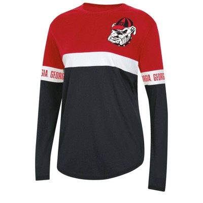 NCAA Georgia Bulldogs Women's Long Sleeve T-Shirt