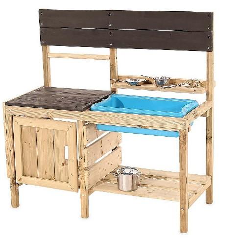 Hearthsong Indoor Outdoor Mud Kitchen For Kids Outdoor Play Target