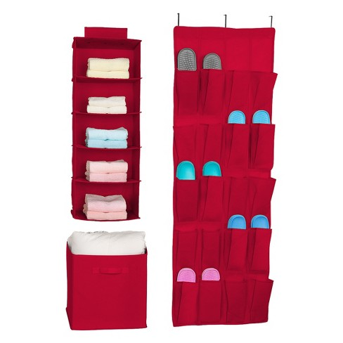 Sorbus closet systems and components Red - image 1 of 5