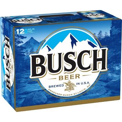 Busch Beer - 12pk/12 fl oz Cans