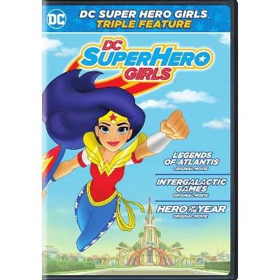 DC Super Hero Girls: Triple Feature (DVD)(2018)