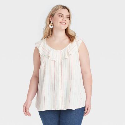 Women's Plus Size Summer Top - Ava & Viv™