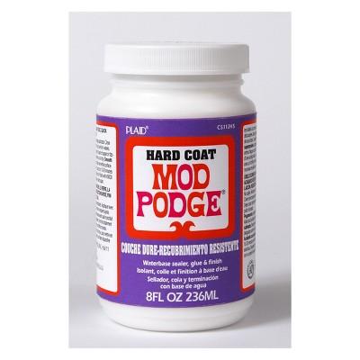 Mod Podge 8oz Hard Coat Glue - Clear