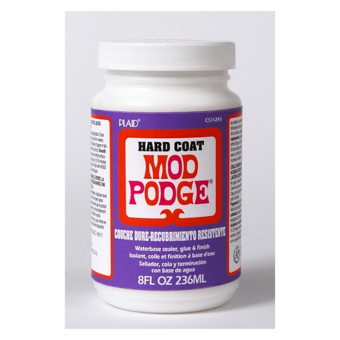 Mod Podge 8oz Hard Coat Glue Clear - image 1 of 1