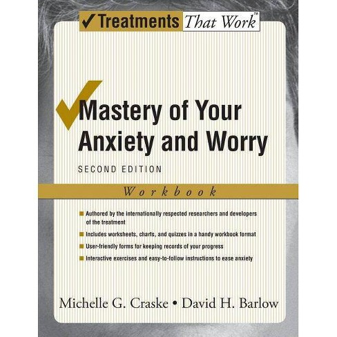 Mastery of Your Anxiety and Worry - (Treatments That Work) 2 Edition (Paperback) - image 1 of 1