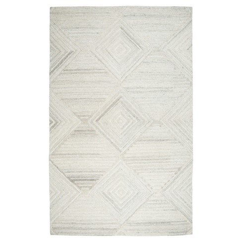 Suffolk Geometric Solid Rug - Rizzy Home - image 1 of 4