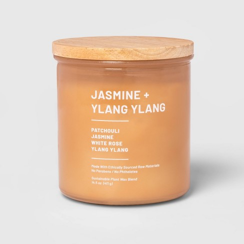 Glass Jar Jasmine and Ylang Candle - Project 62™ - image 1 of 2