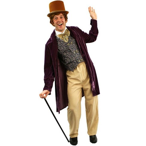 Orion Costumes Willy Wonka Classic Chocolate Man Adult Costume, Standard - image 1 of 1