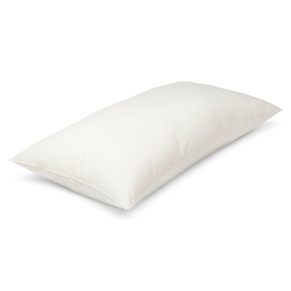 Image of AllerEase Organic Cotton Cover Allergy Protection Pillow - (King), White