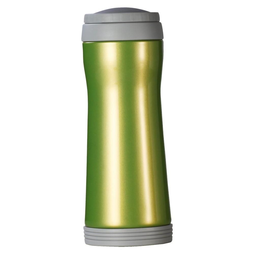 Image of AKTive Lifestyle Timolino Vacuum 12oz Mug with Infuser - Lichen Green