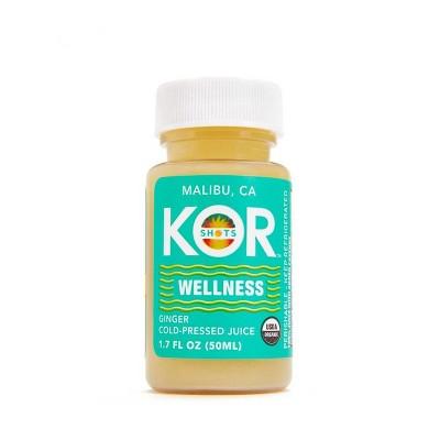 KOR Wellness Ginger Shot - 1.7oz