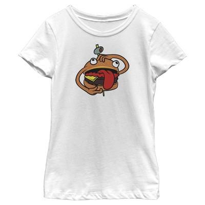 Girl's Fortnite Durr Burger T-Shirt