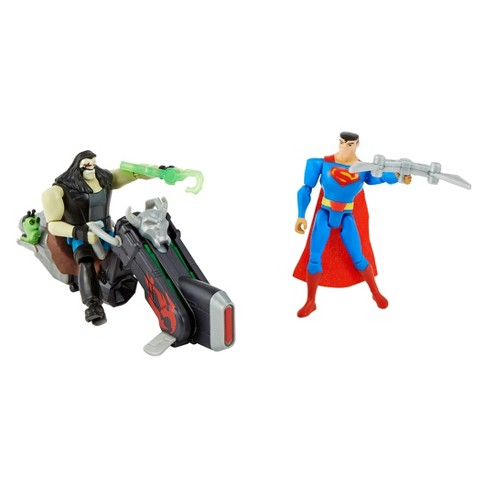 Justice League Action Superman Vs. Lobo Figures - image 1 of 3