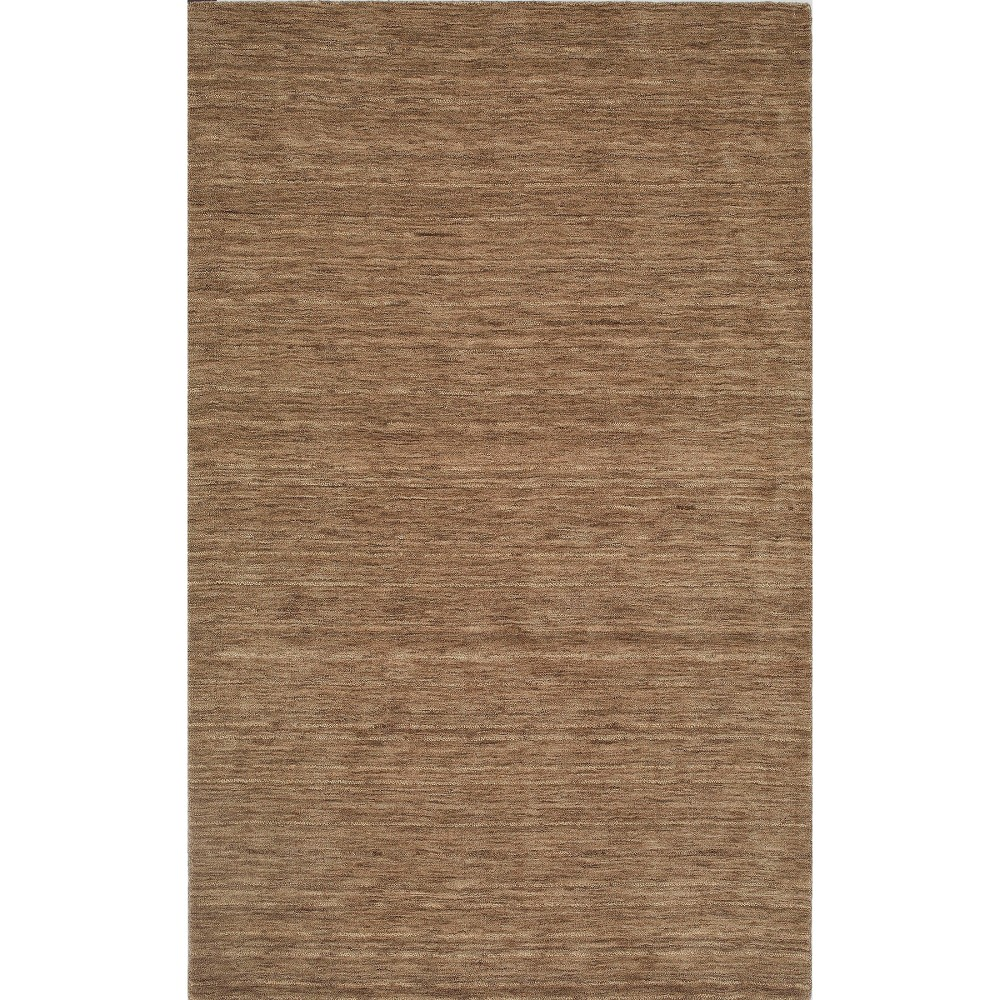 9'x13' Tonal Solid 100% Wool Area Rug Taupe (Brown) - Addison Rugs