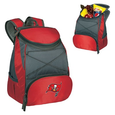 Tampa Bay Buccaneers PTX Backpack Cooler by Picnic Time - Red