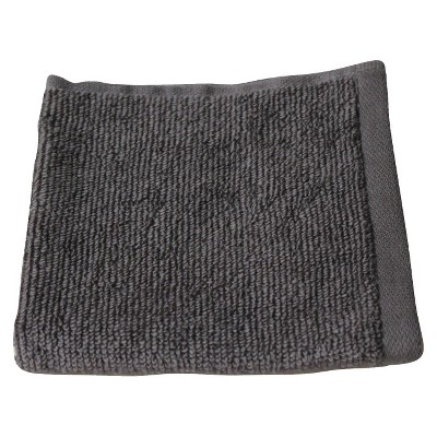 Fast Dry Washcloth Flat Gray - Room Essentials™