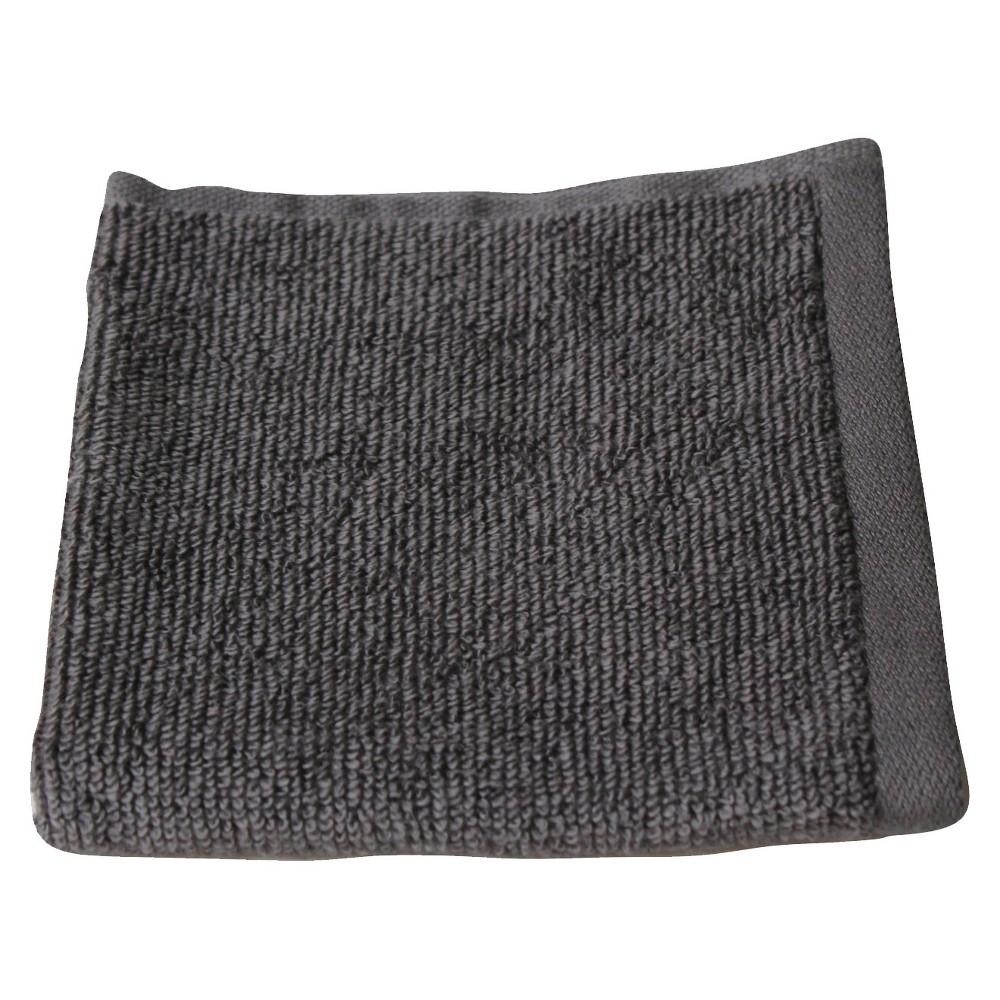 Fast Dry Washcloth Flat Gray Room Essentials 8482