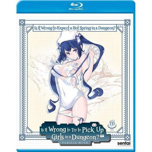 Is It Wrong To Expect A Hot Spring In a Dungeon (Blu-ray) - image 1 of 1