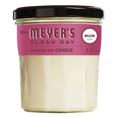 Mrs. Meyer's Clean Day Soy Candle - Mum - 4.9oz